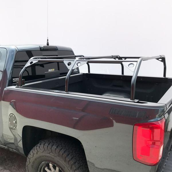 Tuff Stuff Rooftop Tent Truck Bed Rack Adjustable Powder Coated Bla Roof Top Overland