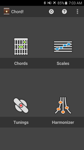Chord! Android Guitar Chord App