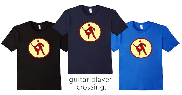 Guitar Player Crossing