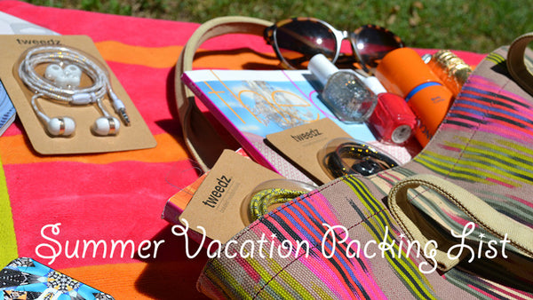 Summer Trip Packing Checklist