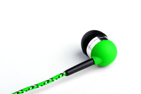 Neon Green In Ear Headphones