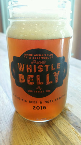 Whistle Belly 2016 Mason Jar