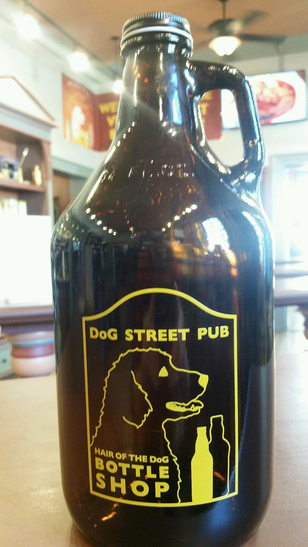 Screw Top 64oz Growler