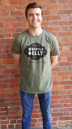 Whistle Belly Unisex T-Shirt, Short Sleeve
