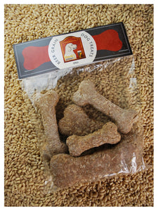 Beer Grain Dog Treats