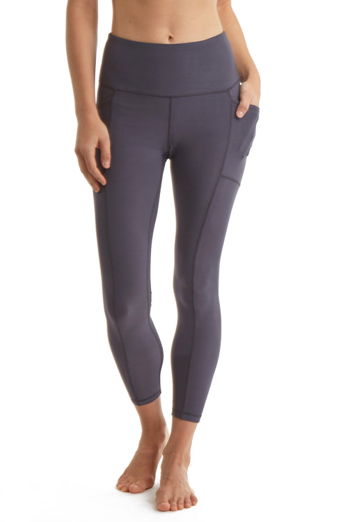7/8 LEGGINGS with SIDE PHONE POCKETS