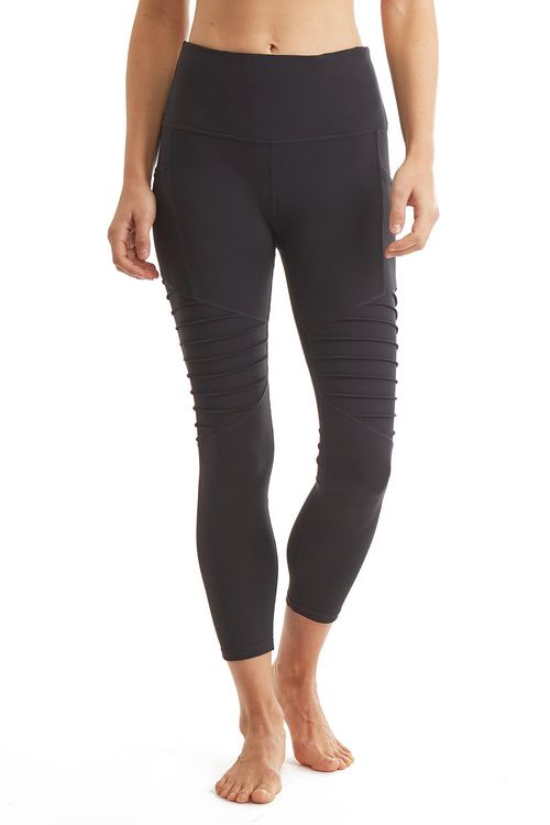 7/8 PHONE POCKET LEGGING-BOLD BLACK