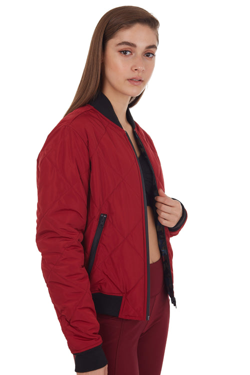 REVERSIBLE PACKABLE BOMBER