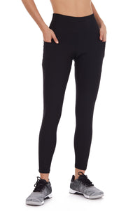 PHONE POCKET LEGGING IN BLACK