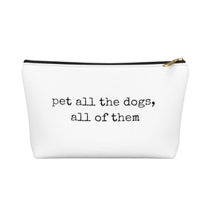 Pet All the Dogs Makeup Bag
