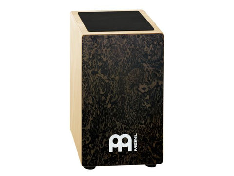 Meinl Percussion Cajon, Black Burl wood