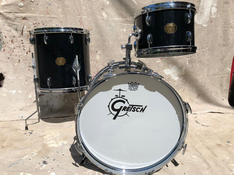 Gretsch 70's Stop Sign Black Nitron 3 pc.