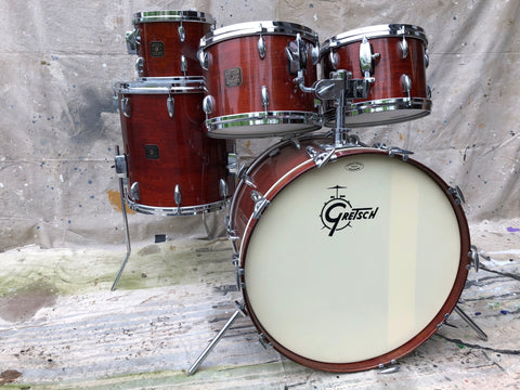 Gretsch Walnut Stain '82 Square Badge