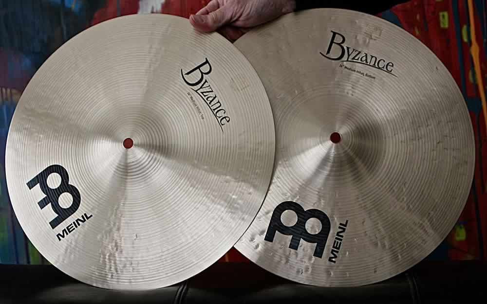 "Meinl Byzance 14"" Traditional Hi Hat Cymbals"