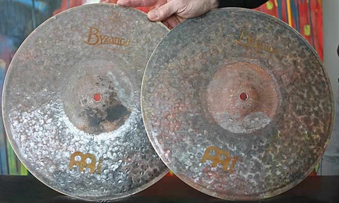 "Meinl Byzance 14"" Extra Dry Hi Hat Cymbals"