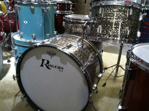 Rogers '70's Holiday Black Onyx Three Piece Kit