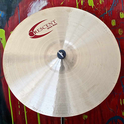 "Crescent Wide Ride Stanton Moore 20"" Ride Cymbal #1936"