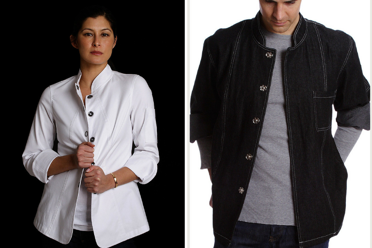 Custom Designer Chef Coats for Him & Her
