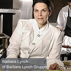 Barbara Lynch, designer shannon reed, chef jacket