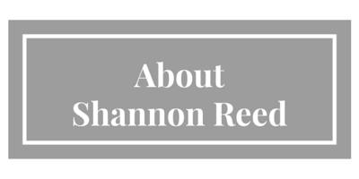 About shannon reed, custom chef aprons