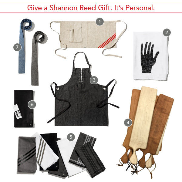 holiday gift guide - shannon reed - chef clothing
