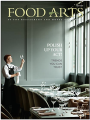 Food Arts Magazine Cover - May 2010