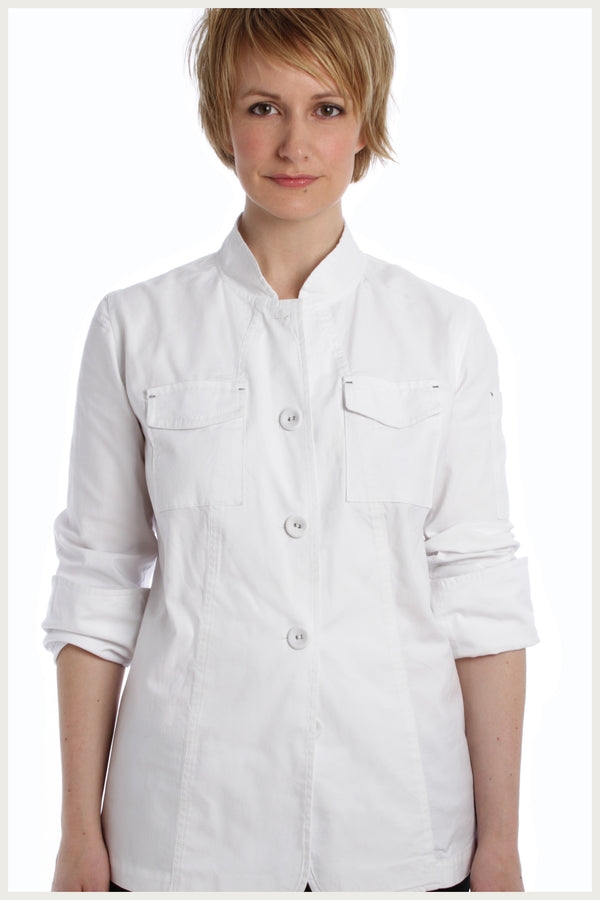 Designer Chef Jacket Women S Cargo Shannon Reed