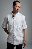 Designer Chef Jacket - Men's Short-Sleeve Flight Jacket