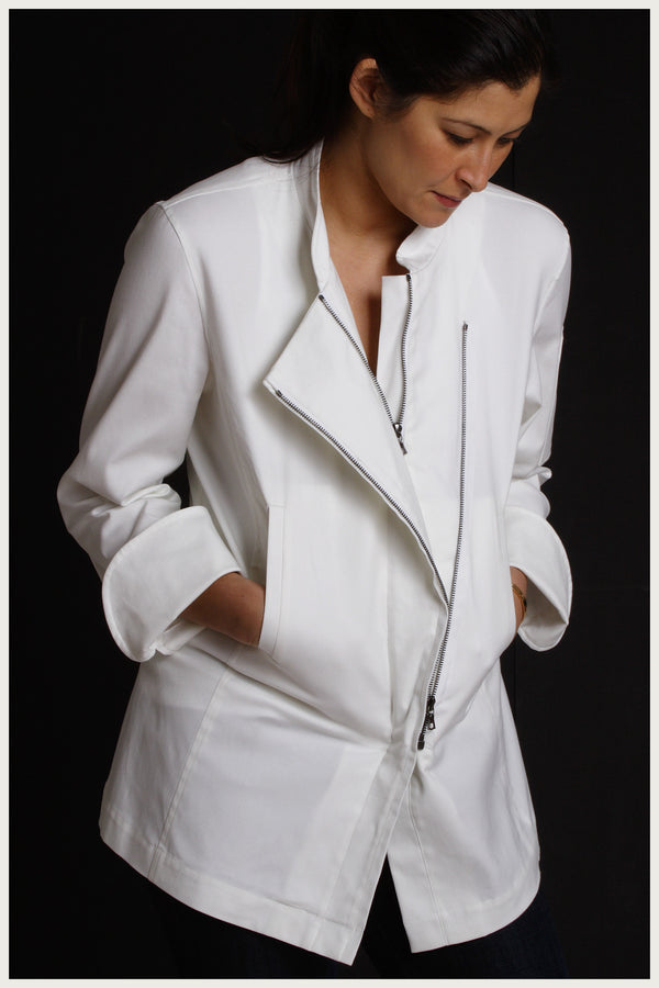 Designer Chef Jacket Women S Moto Shannon Reed