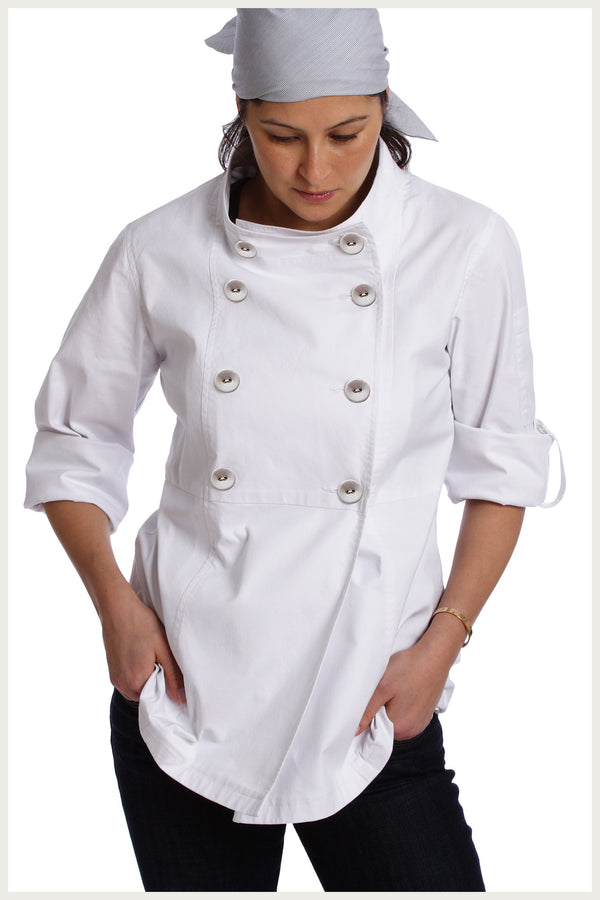 Designer Chef Jacket Women S Trench Shannon Reed