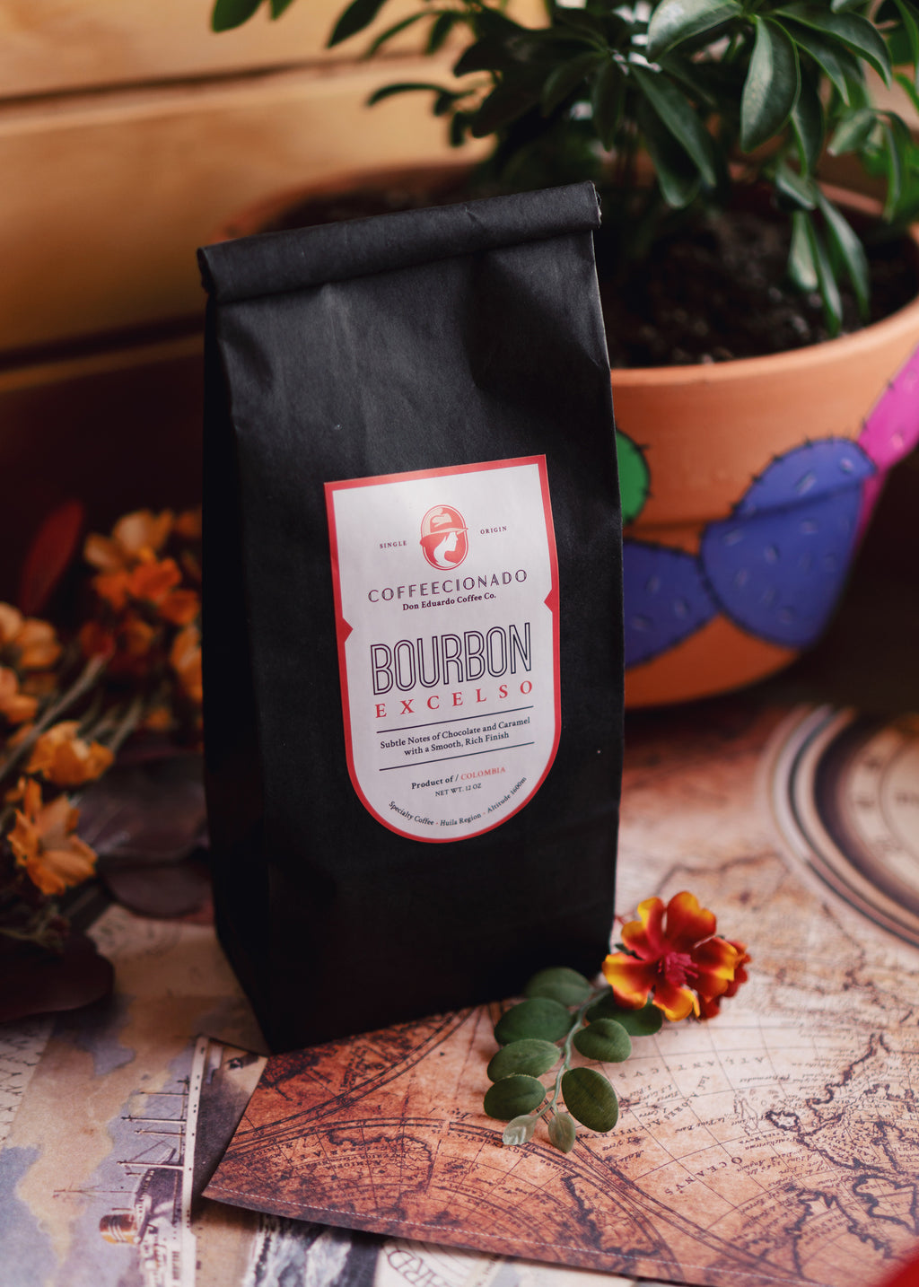 Coffee Coffecionado in San Antonio Bourbon Excelso