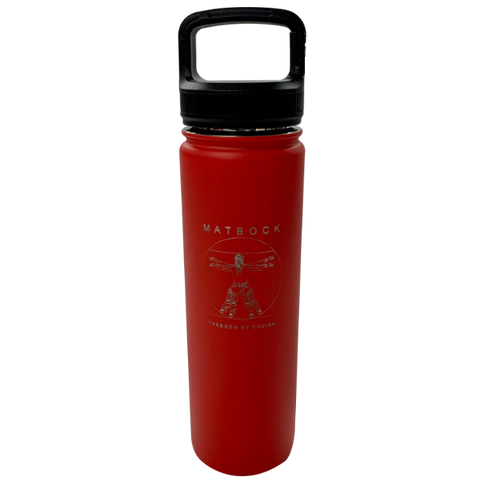 22 OZ DOUBLE-WALLED FLASK - MATBOCK