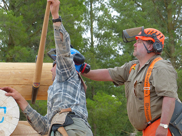 A Hands-On Log Construction Course in Alaska