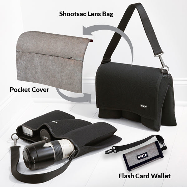 Shootsac Lens Bag + Sterling Gift Set