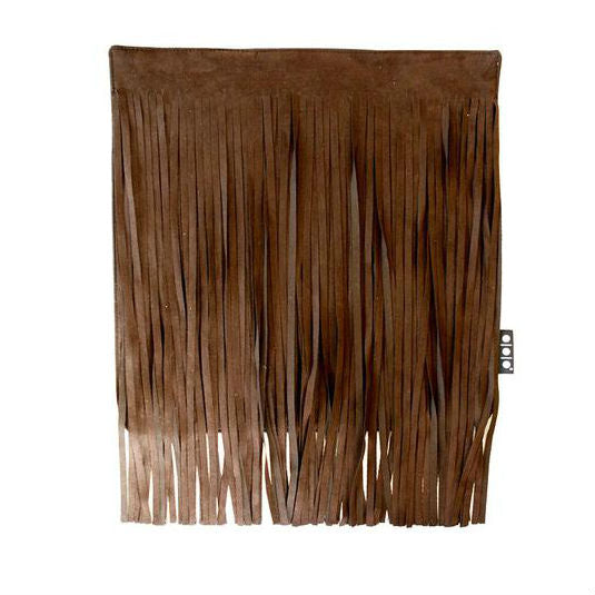 Fringe Cover Dark Brown