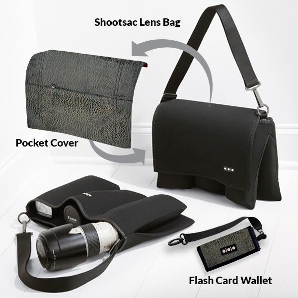 Shootsac Lens Bag + Midnight Cowboy Gift Set