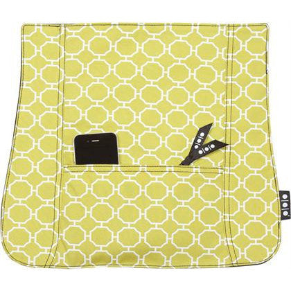Pocket Cover, Green Octagon