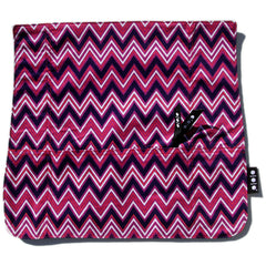 Pocket Cover, Purple Zag