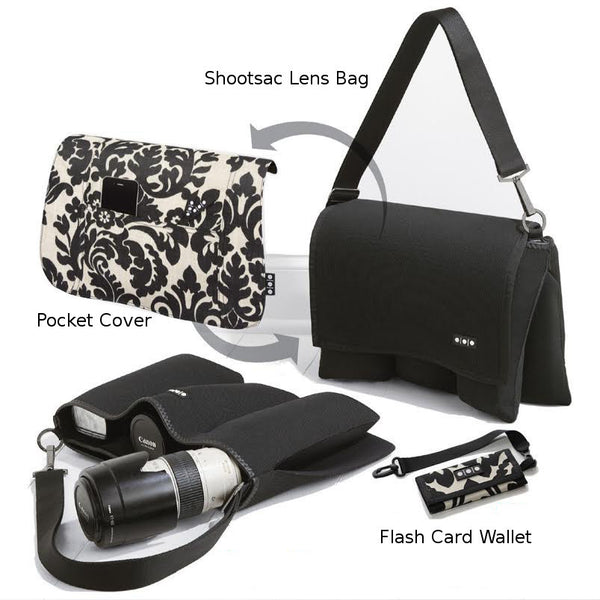Shootsac Lens Bag + Baroque Gift Set