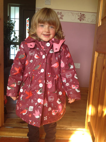 Winter Birds Hatley Coat