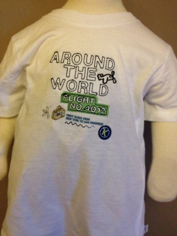 Around the World Tee Shirt