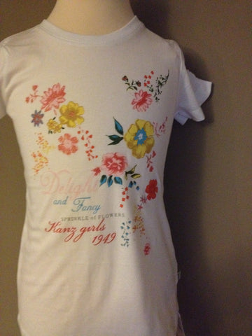 Sprinkle of Flowers Tee Shirt
