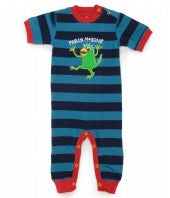Hatley Party Monster Playtime Rompers