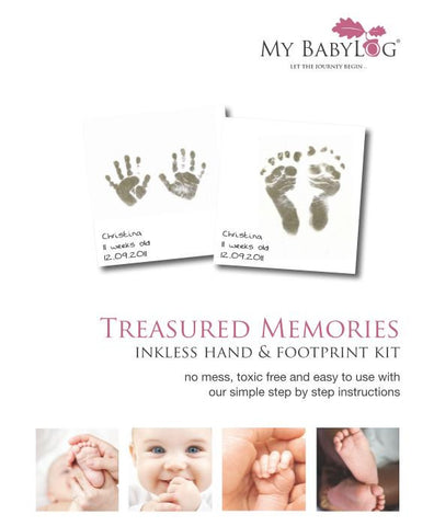 Inkless Hand & Foot Print Kits for Babies