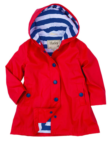 Red Hatley Splash Coat Bumpsnbabies