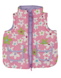 Fresh Flowers Reversible Gilet