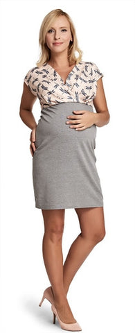 Dragonfly Maternity Dress