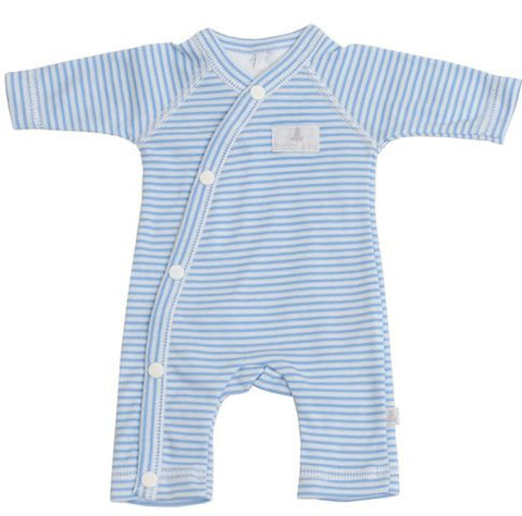 Baby Bear Blue Stripe Romper
