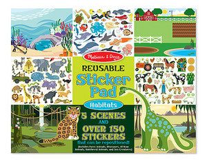 Habitat Sticker Book