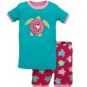 Hatley Short PJ Turtle Set